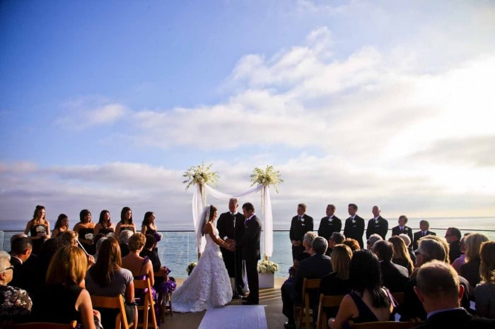 Surf and Sand Resort Wedding Ceremony