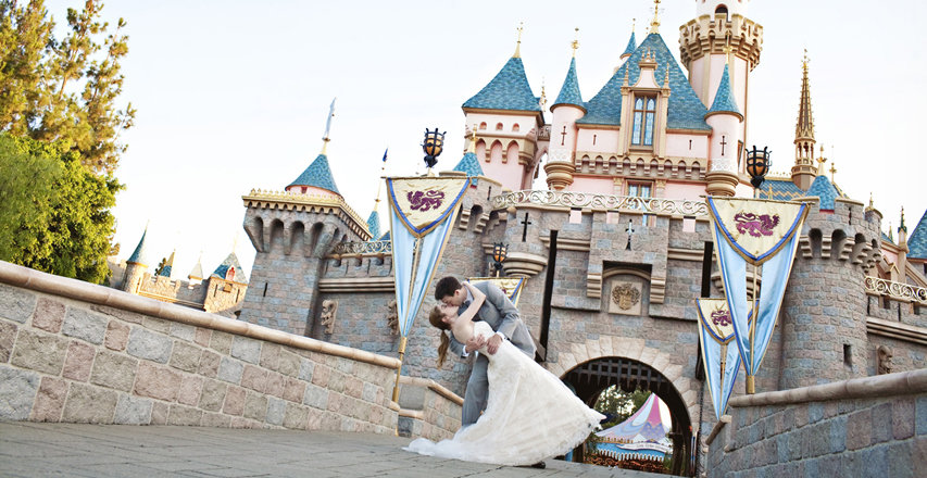 Wedding at Disneyland