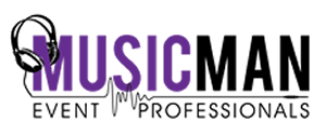 Music Man Event Professionals Logo