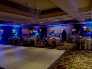 Surf and Sand Resort Wedding Reception